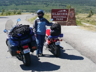 Heading into Glacier National Park