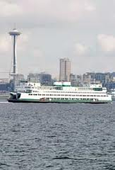 Profession photo showing Space Needle & Ferry  www.wdot.com