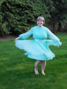 It's still fun to twirl in!